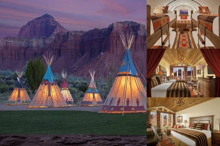 Capitol Reef Resort photo collage