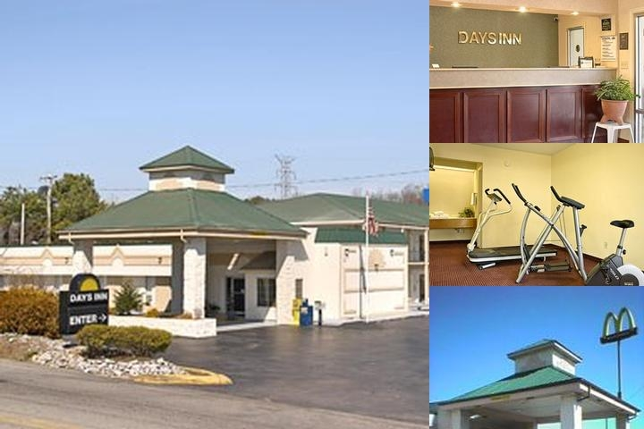 Cookeville Days Inn photo collage