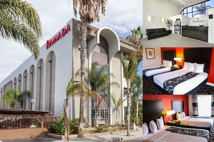 Ramada Oceanside photo collage