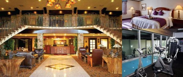 Regency Lodge photo collage