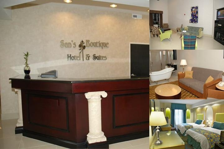 San's Boutique Hotel & Suites photo collage