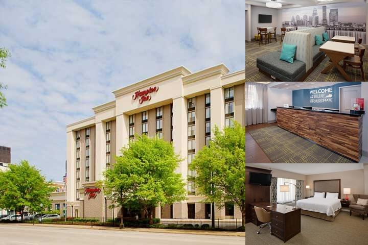 Hampton Inn Louisville Downtown photo collage