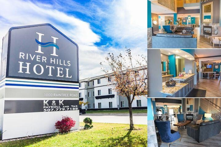 River Hills Hotel (Formerly Grandstay) photo collage