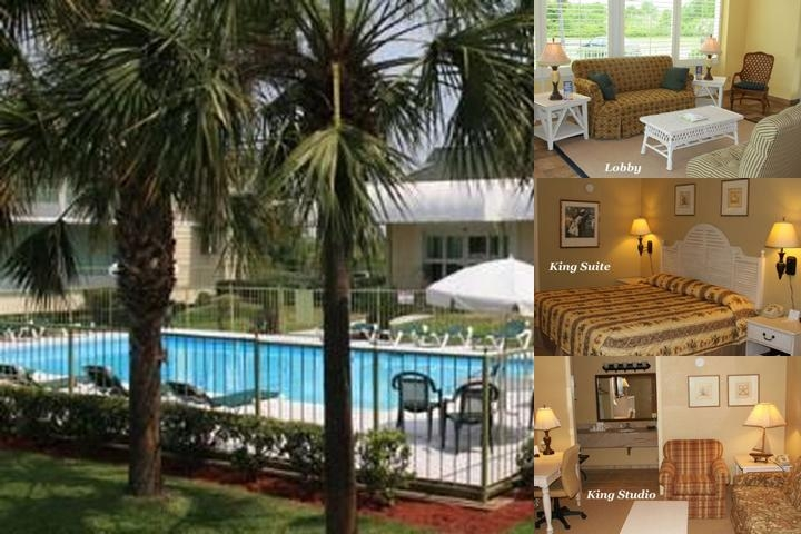 Battleship Inn Resort photo collage