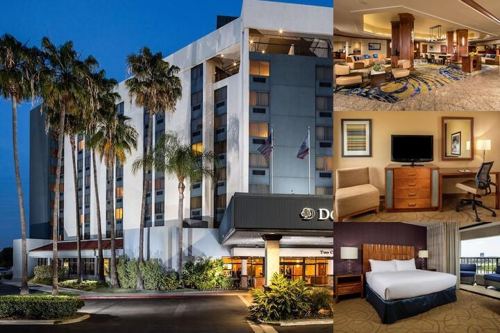 Doubletree by Hilton Carson photo collage