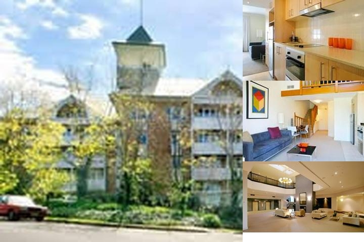 Pennant Hills Waldorf Apartment Hotel photo collage