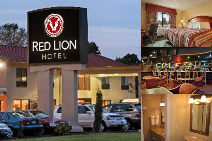 Red Lion Hotel photo collage