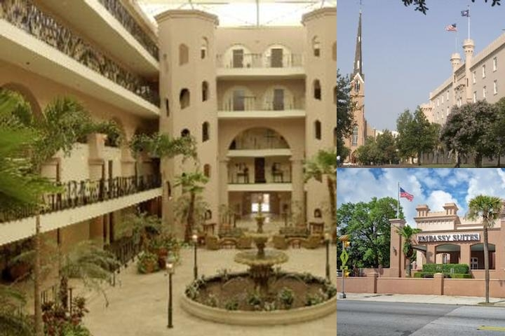 The Embassy Suites Historic Charleston photo collage