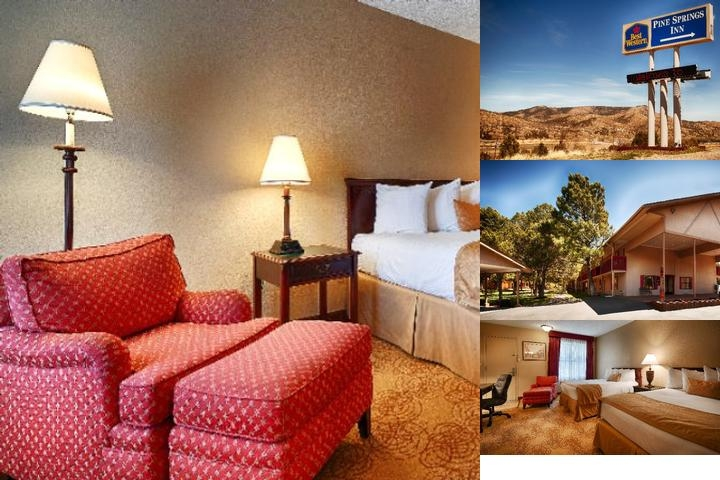Best Western Pine Springs Inn photo collage