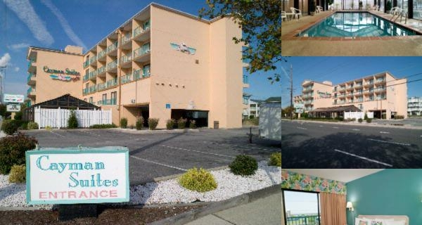 Cayman Suites Hotel photo collage
