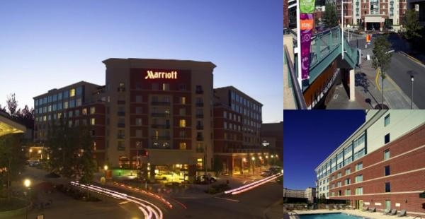Redmond Marriott Town Center photo collage