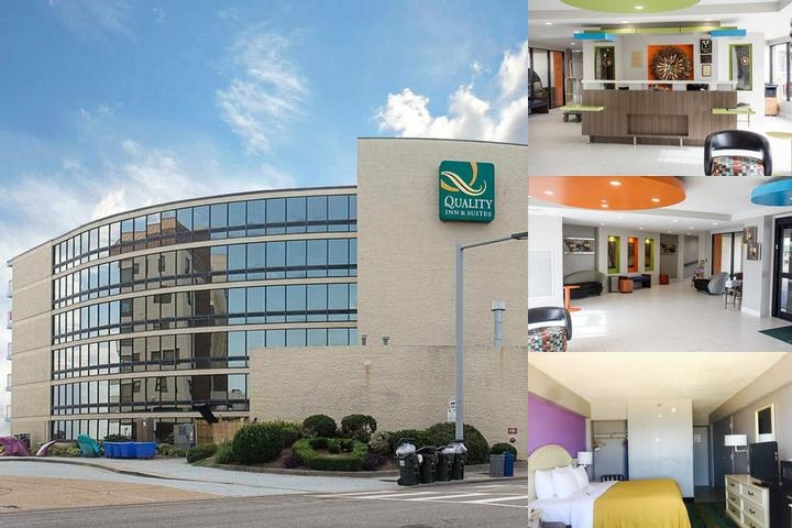 Quality Inn & Suites Oceanfront photo collage