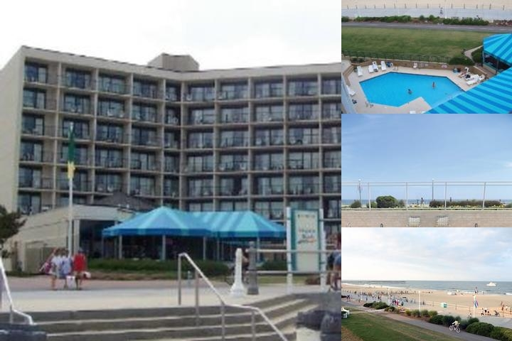 The Grand Ocean Hotel photo collage