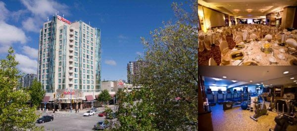 Vancouver Airport Marriott photo collage