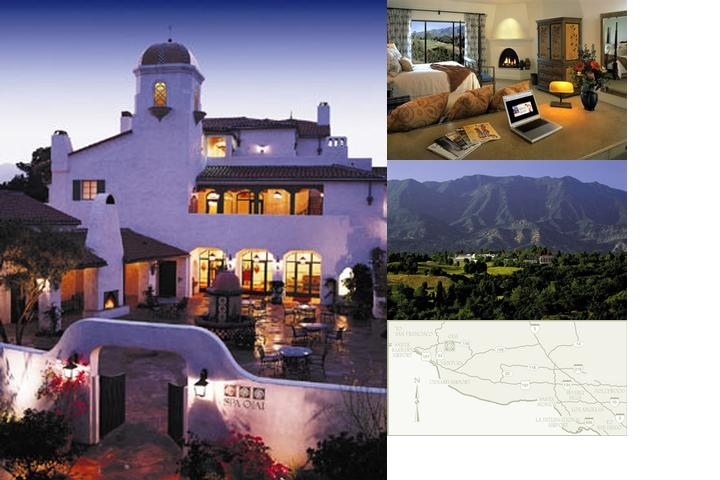 Ojai Valley Inn photo collage