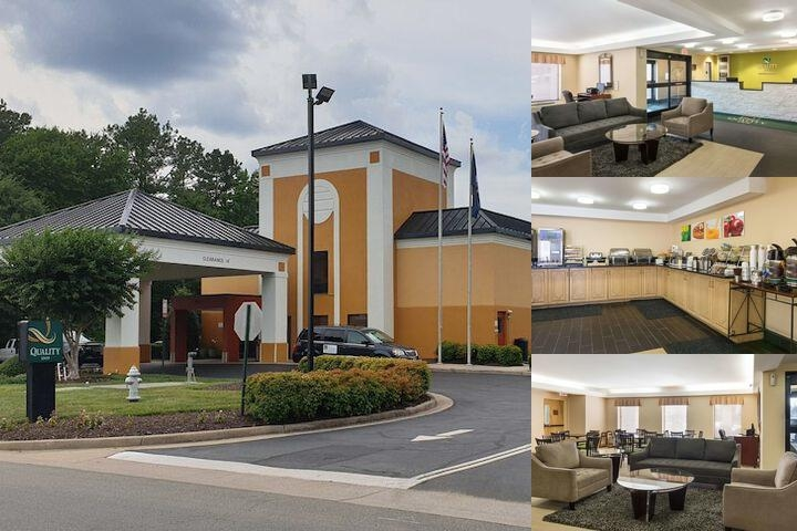 Quality Inn Richmond Airport photo collage