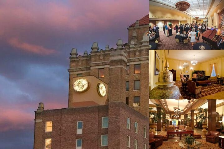Marcus Whitman Hotel photo collage