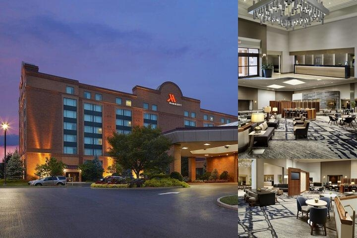 Cincinnati Airport Marriott photo collage