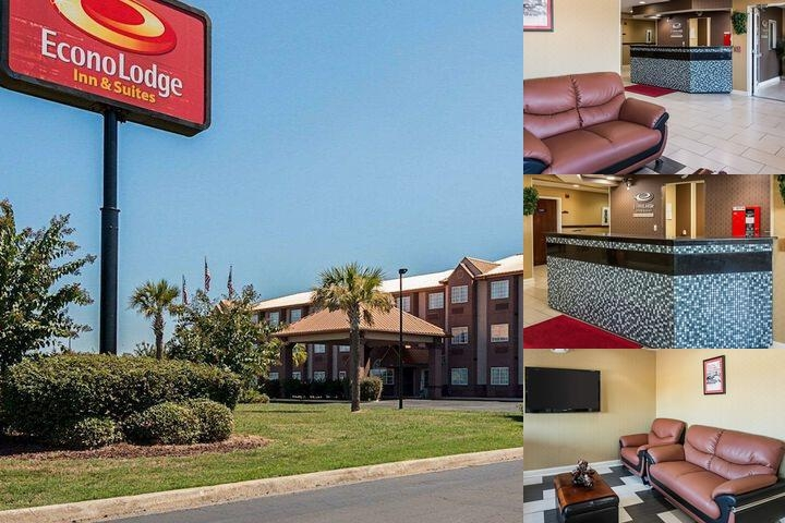 Econo Lodge Inn & Suites Natchitoches photo collage