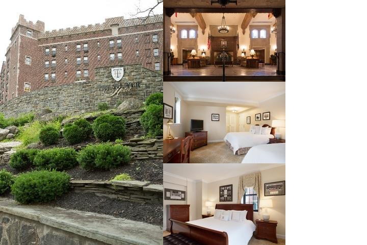 The Thayer Hotel photo collage