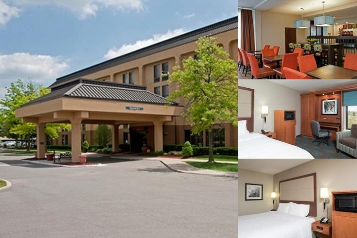 Hampton Inn Ann Arbor North photo collage
