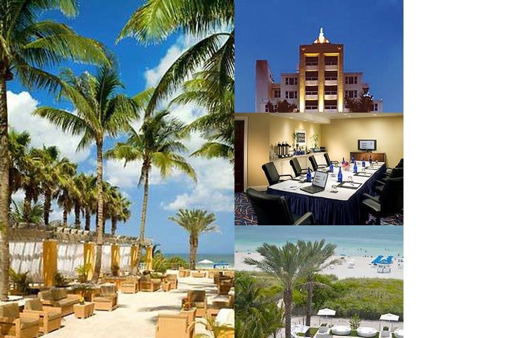 Marriott South Beach photo collage