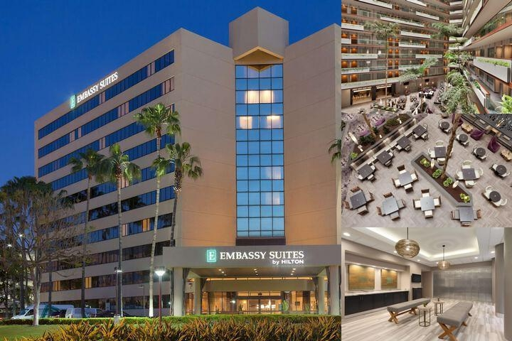 Embassy Suites Irvine photo collage