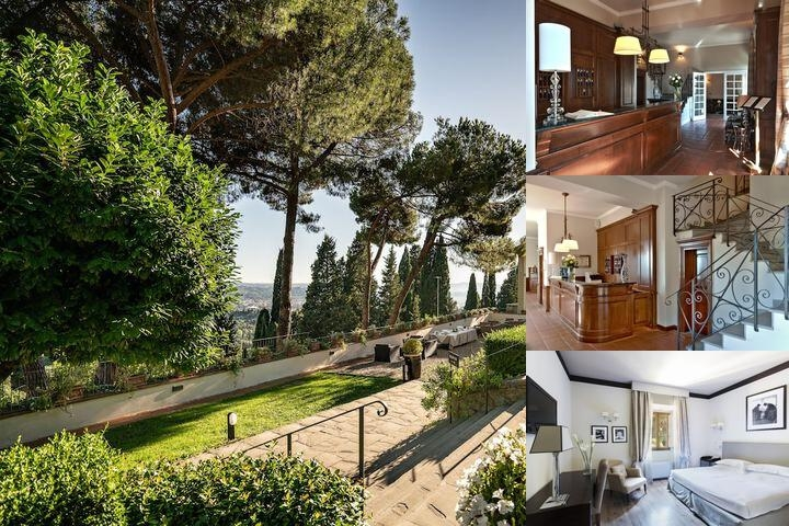 Fh Hotel Villa Fiesole photo collage