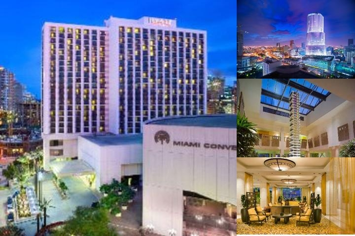 Hyatt Regency Miami photo collage