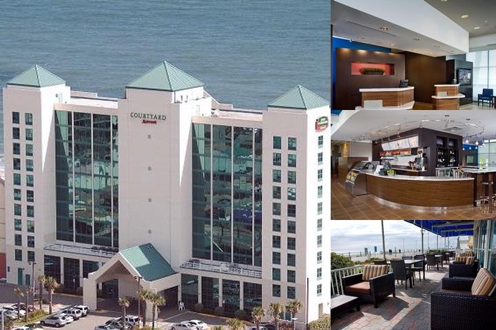 Courtyard by Marriott Oceanfront South photo collage
