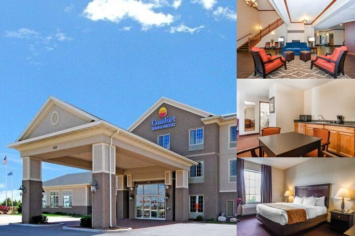 Comfort Inn & Suites Madison North Deforest Wi photo collage