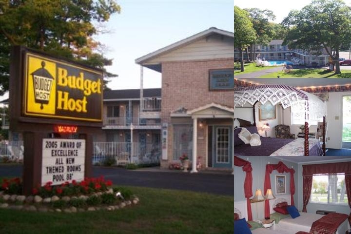 Budget Host Mackinaw City photo collage