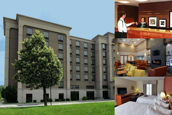 Hampton Inn & Suites by Hilton Windsor photo collage