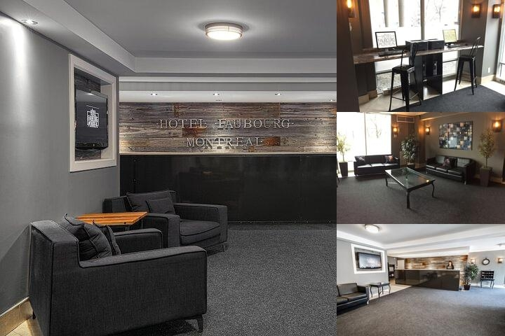 Hotel Faubourg Montreal photo collage