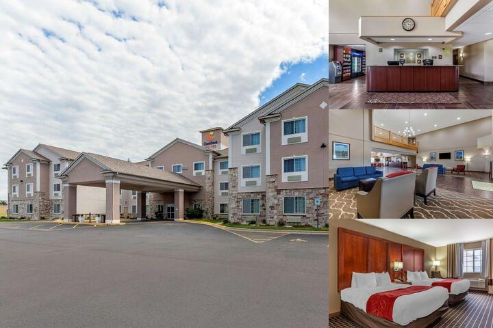 Comfort Suites Delavan photo collage