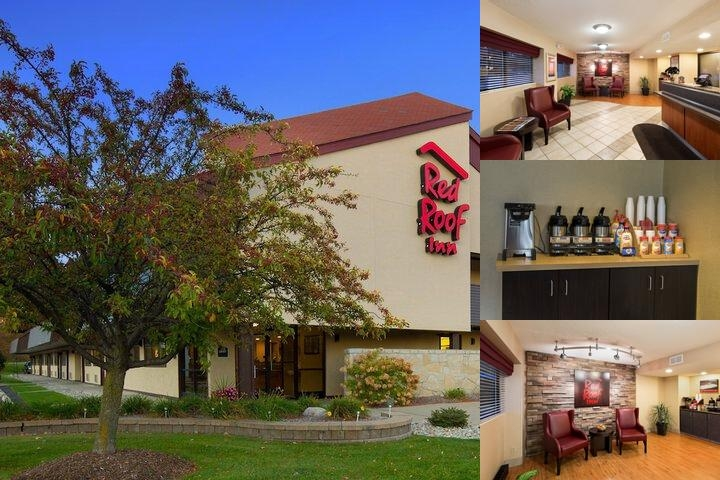 Taylor Red Roof Inn photo collage