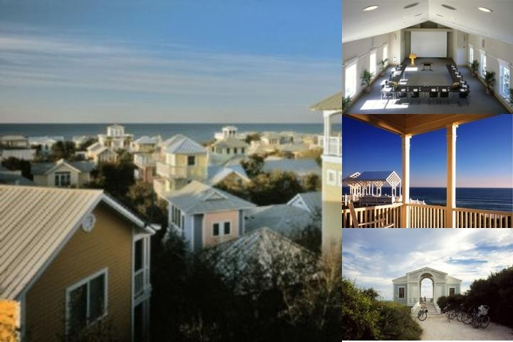 Cottage Rental Agency Seaside Florida photo collage