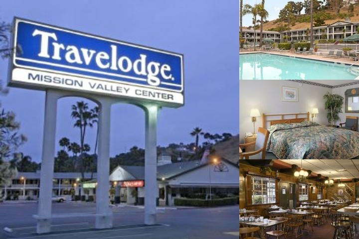 Mission Valley Travelodge photo collage