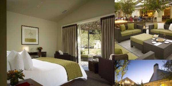 Solage Calistoga Resort & Spa photo collage
