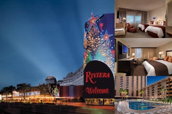 Riviera Hotel & Casino photo collage
