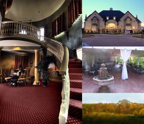 Chateau Avalon photo collage