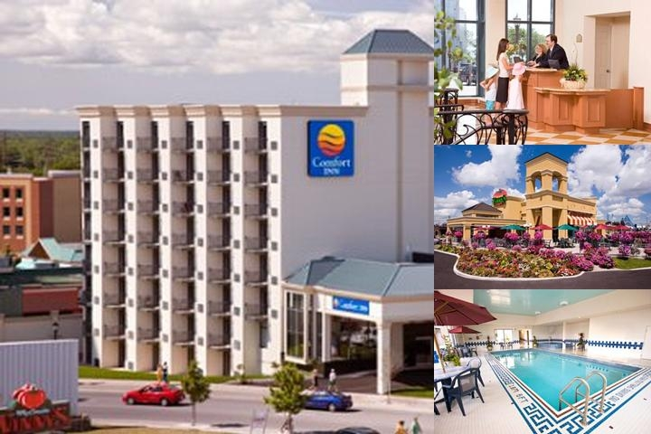 Comfort Inn Fallsview photo collage