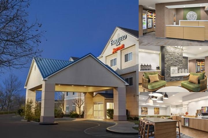 Fairfield Inn Tracy photo collage
