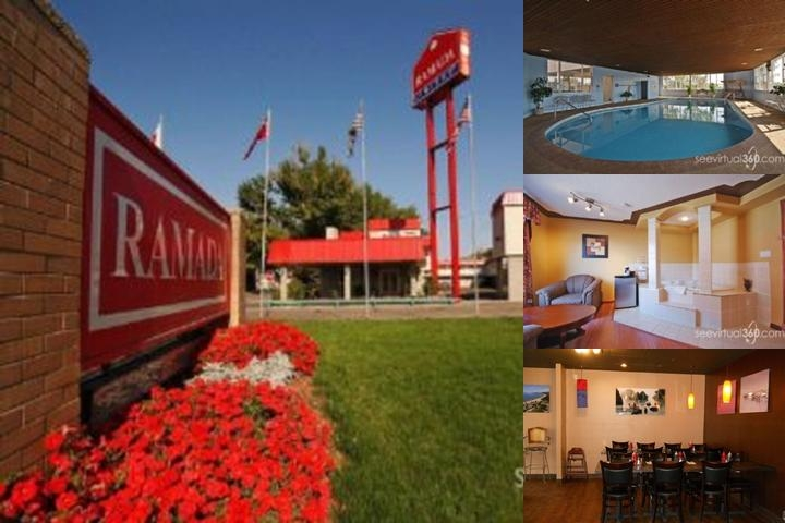 Ramada Limited Medicine Hat photo collage