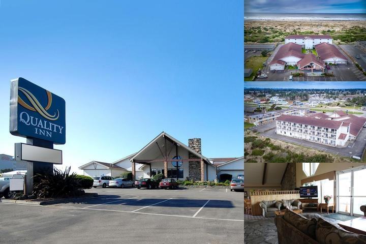 Quality Inn Ocean Shores photo collage