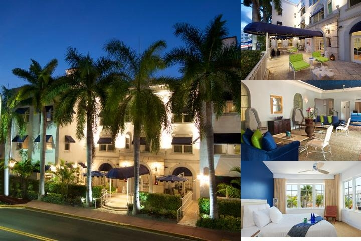 Blue Moon Hotel photo collage