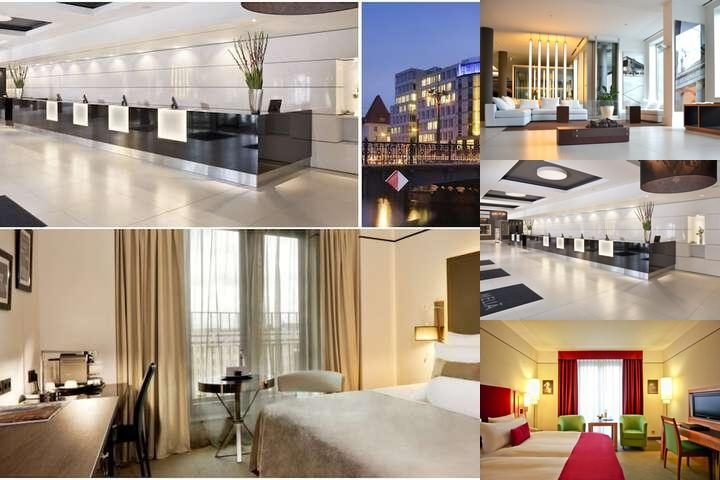 Meliá Berlin photo collage