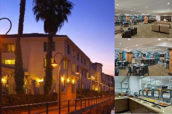 Doubletree by Hilton West Long Beach Port of La photo collage