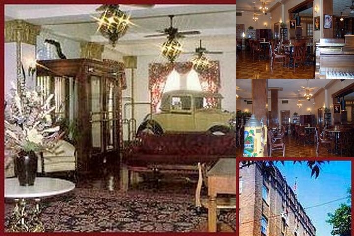 Faust Hotel photo collage