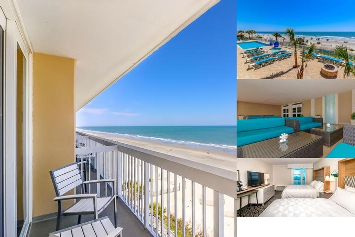 Holiday Inn Oceanfront at Surfside Beach photo collage